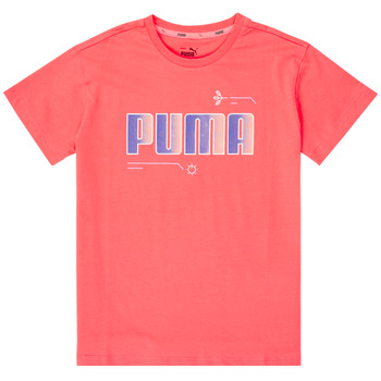 material Girl short-sleeved t-shirts Puma ALPHA TEE Pink