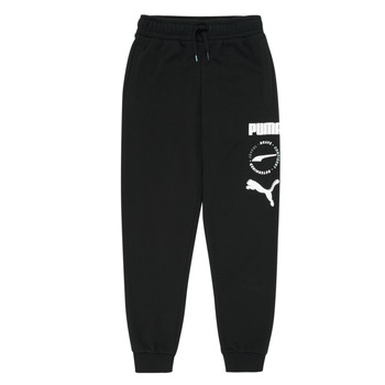 material Boy Tracksuit bottoms Puma ALPHA SWEAT PANT Black