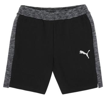 material Boy Shorts / Bermudas Puma EVOSTRIPE SHORTS Black