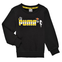 material Boy sweaters Puma SNOOPY PEANUTS CREW Black