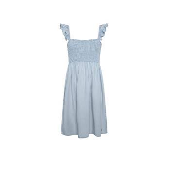 material Girl Short Dresses Pepe jeans MARIA DRESS Blue