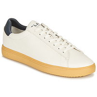 Shoes Low top trainers Clae BRADLEY CACTUS White / Blue
