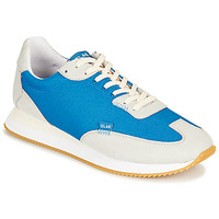 Shoes Low top trainers Clae RUNYON Blue / Grey