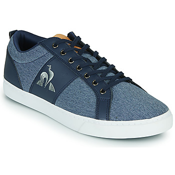Shoes Men Low top trainers Le Coq Sportif VERDON CLASSIC Blue / Brown