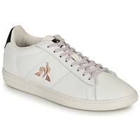 Shoes Women Low top trainers Le Coq Sportif COURTSET White / Black