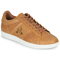 Shoes Men Low top trainers Le Coq Sportif COURTCLASSIC Brown