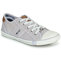 Shoes Women Low top trainers Mustang NATHALIA Violet