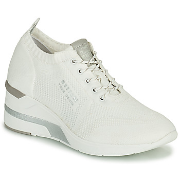 Shoes Women High top trainers Mustang THALIA White