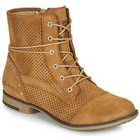 Shoes Women Mid boots Mustang HUNITA Cognac