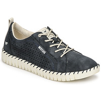 Shoes Women Low top trainers Mustang NINA Marine