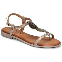 Shoes Women Sandals Mustang ANITTA Bronze