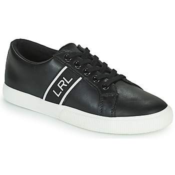 Shoes Women Low top trainers Lauren Ralph Lauren JANSON II Black
