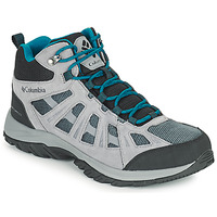 Shoes Men Hiking shoes Columbia REDMOND III MID WATERPROOF Grey