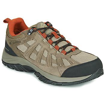 Shoes Men Hiking shoes Columbia REDMOND III WATERPROOF Brown