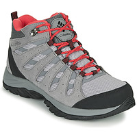 Shoes Women Hiking shoes Columbia REDMOND III MID WATERPROOF Grey