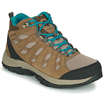 Shoes Women Hiking shoes Columbia REDMOND III MID WATERPROOF Beige