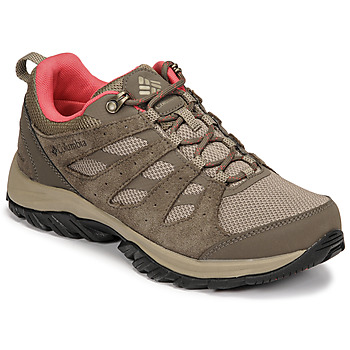 Shoes Women Hiking shoes Columbia REDMOND III WATERPROOF Brown
