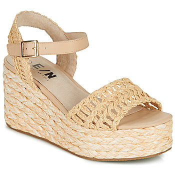 Shoes Women Espadrilles Elue par nous JISPY Beige