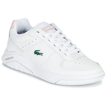 Shoes Women Low top trainers Lacoste GAME ADVANCE 0721 2 SFA White / Pink