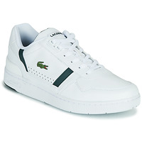 Shoes Men Low top trainers Lacoste T-CLIP 0721 2 SMA White / Green