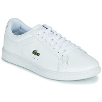 Shoes Women Low top trainers Lacoste CARNABY EVO BL 21 1 SFA White