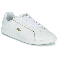 Shoes Women Low top trainers Lacoste GRADUATE 0721 1 SFA White / Gold