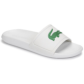 Shoes Men Sliders Lacoste CROCO SLIDE 119 1 CMA White / Green