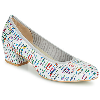 Shoes Women Court shoes Perlato 11518-CUAROC-BLANC Multicolour