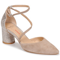 Shoes Women Court shoes Perlato 11770-CAM-FREJE-STONE Beige / Gold