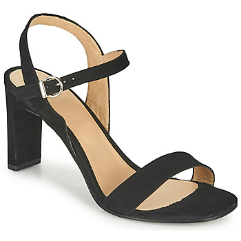 Shoes Women Sandals Perlato 11797-CAM-NOIR Black
