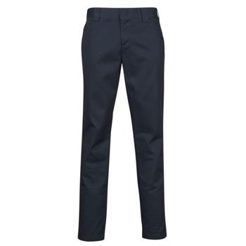 material Men 5-pocket trousers Dickies SLIM FIT WORK PNT Marine