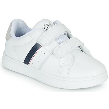 Shoes Children Low top trainers Kappa ALPHA 2V White / Blue