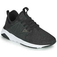 Shoes Girl Low top trainers Kappa SAN DIEGO LACE Black / Pink