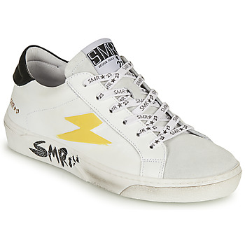 Shoes Women Low top trainers Semerdjian CATRI White / Yellow