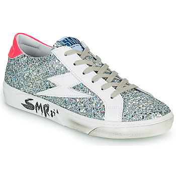 Shoes Women Low top trainers Semerdjian CATRI Silver / Pink