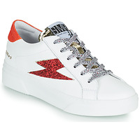 Shoes Women Low top trainers Semerdjian OSLO White / Red