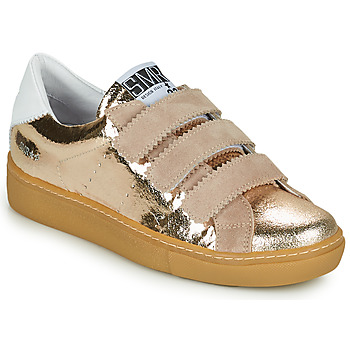 Shoes Women Low top trainers Semerdjian DONIG Gold / Beige