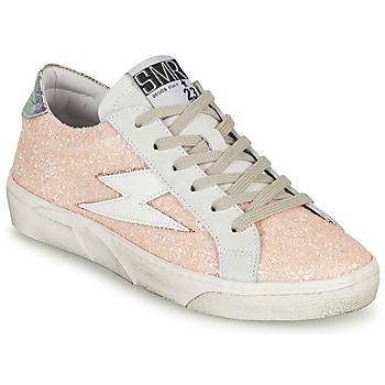 Shoes Women Low top trainers Semerdjian CATMI Pink