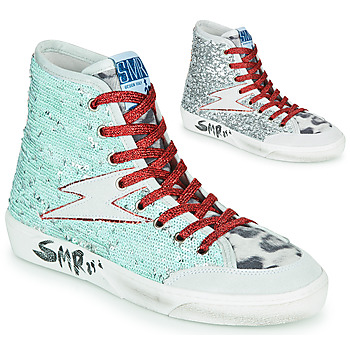 Shoes Women High top trainers Semerdjian YOTE Silver