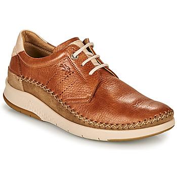 Shoes Men Low top trainers Fluchos 0795-TORNADO-CUERO Brown