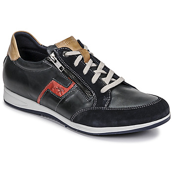Shoes Men Low top trainers Fluchos 0207-AFELPADO-MARINO Marine