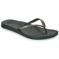 Shoes Women Flip flops Reef CUSHION STARGAZER Black