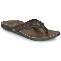 Shoes Men Flip flops Reef REEF J-BAY III Brown
