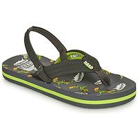 Shoes Boy Flip flops Reef LITTLE AHI Grey