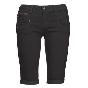 material Women Shorts / Bermudas Freeman T.Porter BELIXA  black