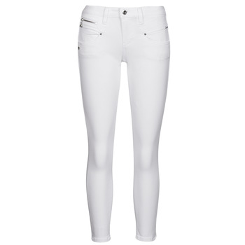 material Women 5-pocket trousers Freeman T.Porter ALEXA CROPPED S-SDM White