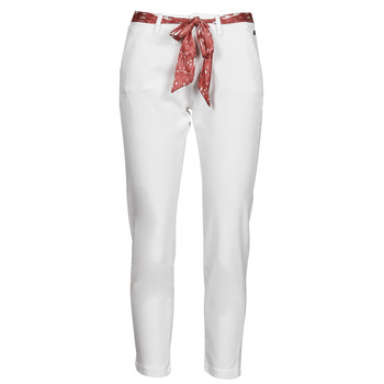 material Women chinos Freeman T.Porter CLAUDIA FELICITA Bright / White