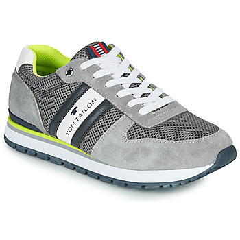 Shoes Men Low top trainers Tom Tailor FILIN Grey