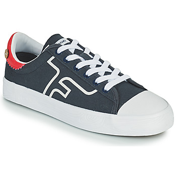 Shoes Low top trainers Faguo KIWI Marine / White