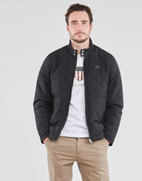 material Men Blouses Gant QUILTED WINDCHEATER Black